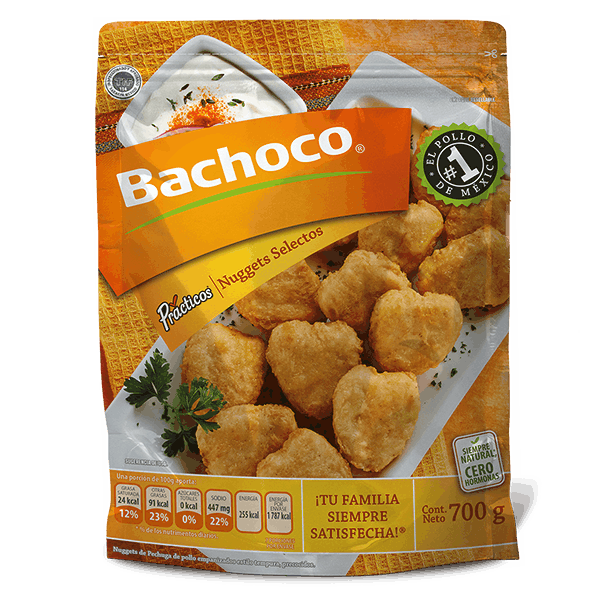 Nuggets de Pechuga Selectos 700 gr