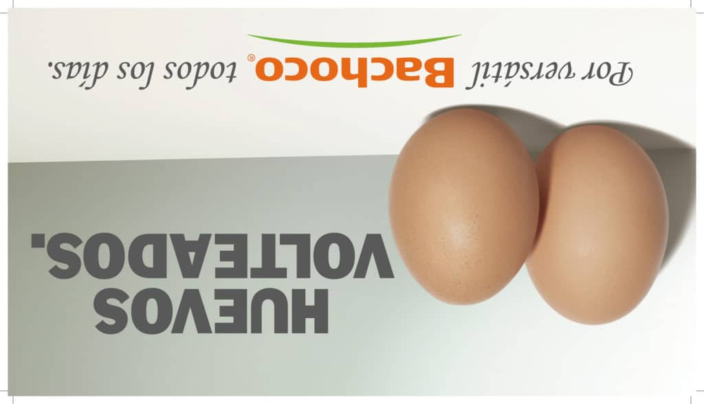 Huevos volteados