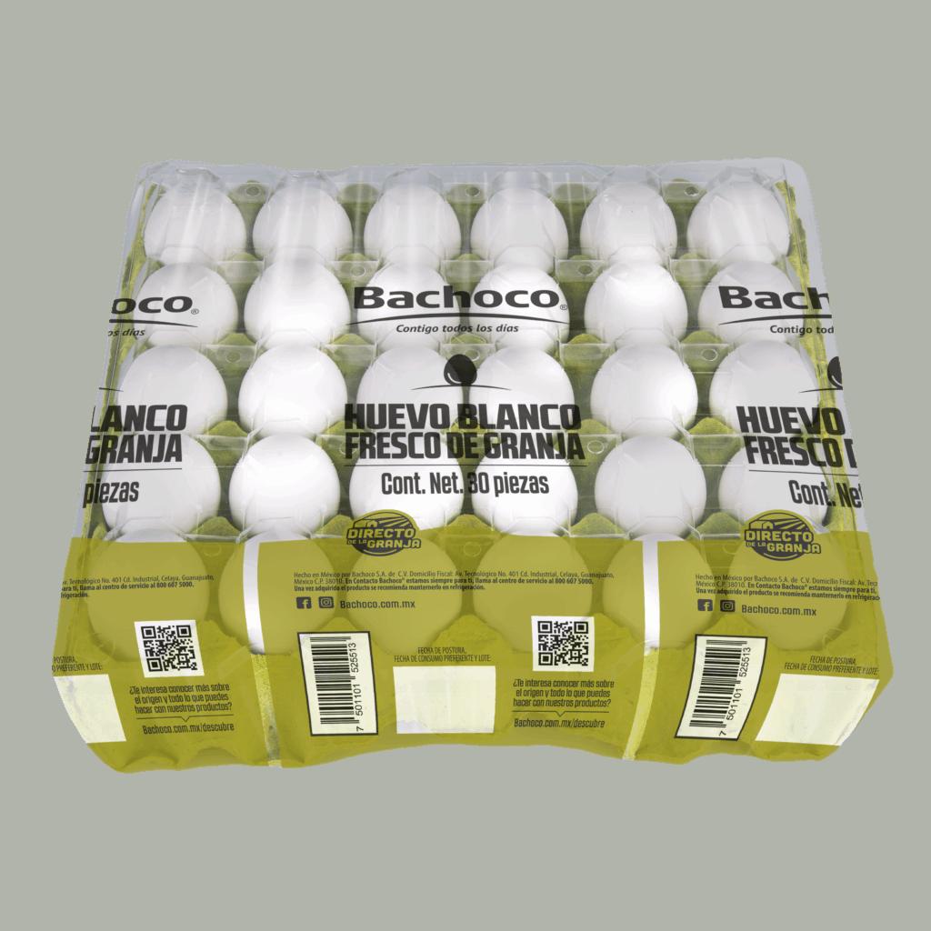 Huevo blanco 30 piezas