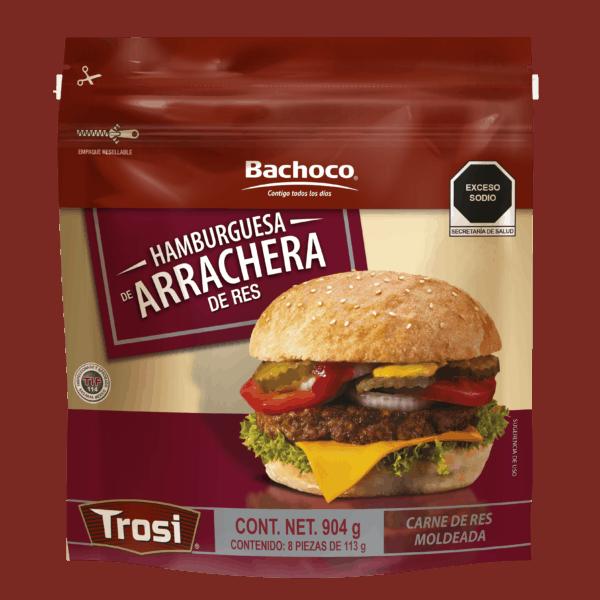 Hamburguesa de Arrachera 904 g