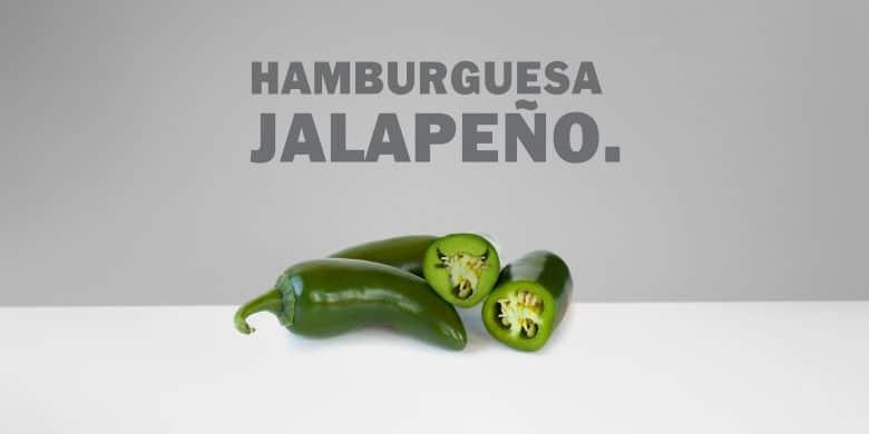 Hamburguesa jalapeño