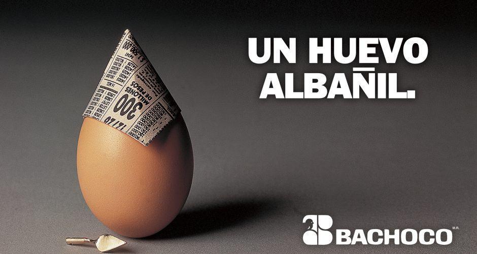 Un huevo albañil