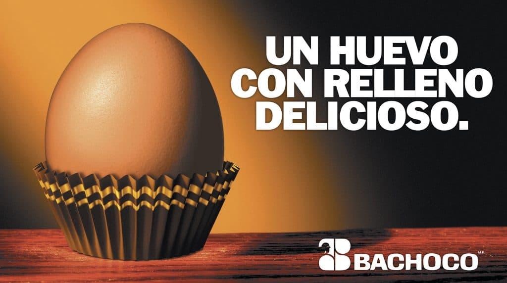 Un huevo con relleno delicioso