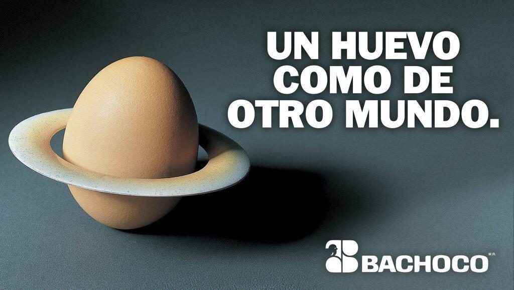 Un huevo como de otro mundo