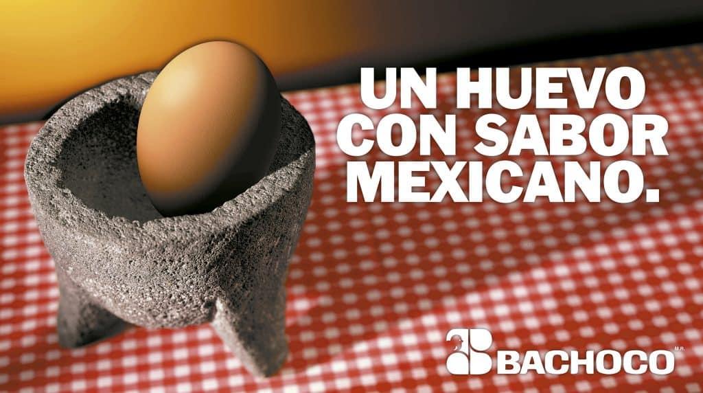 Un huevo con sabor mexicano