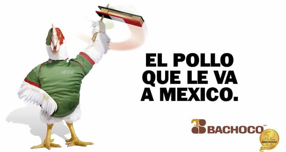 El pollo que le va a México
