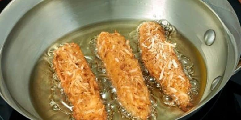 Dedos de pollo con coco Paso:   4