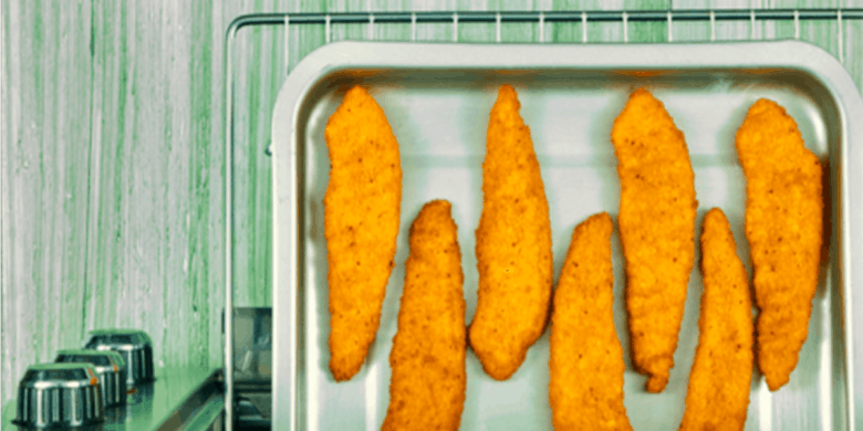 Tacos de lechuga con pollo Paso:   3