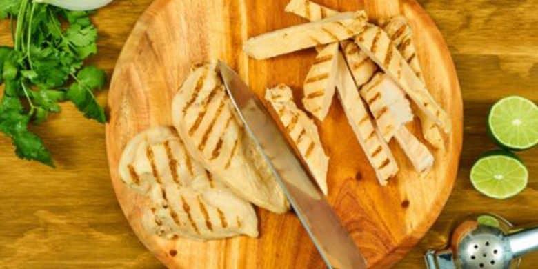 Fajitas de Pollo al Cilantro Limón Paso:   2