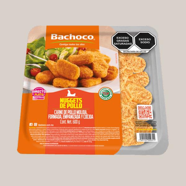 Nuggets de pechuga de pollo 600 g
