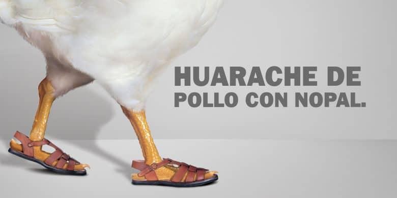 huarache-de-pollo