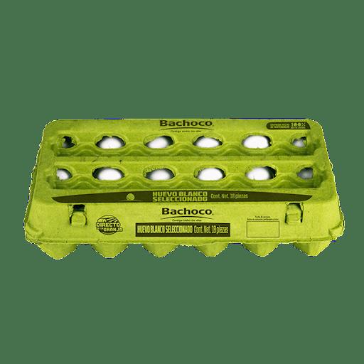 Huevo blanco 18 piezas