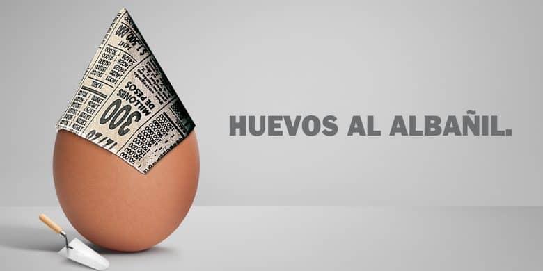 Huevos al albañil