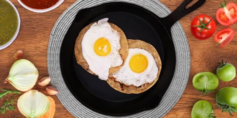 Huevos divorciados Paso:   3