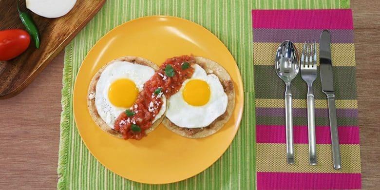 Huevos rancheros Paso:   5