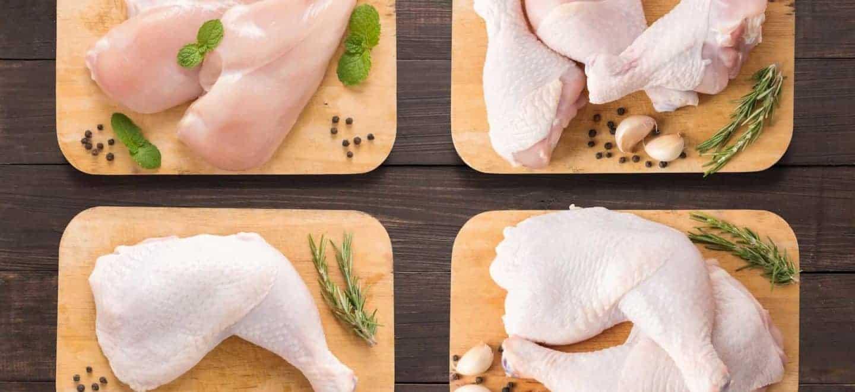 La cantidad de colesterol que contiene la carne de pollo no es elevada