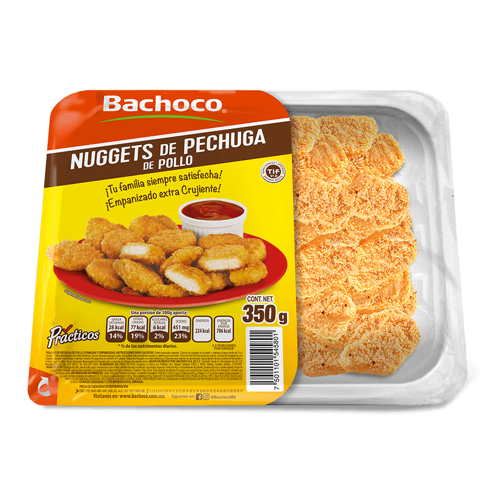 Nuggets de Pechuga de Pollo