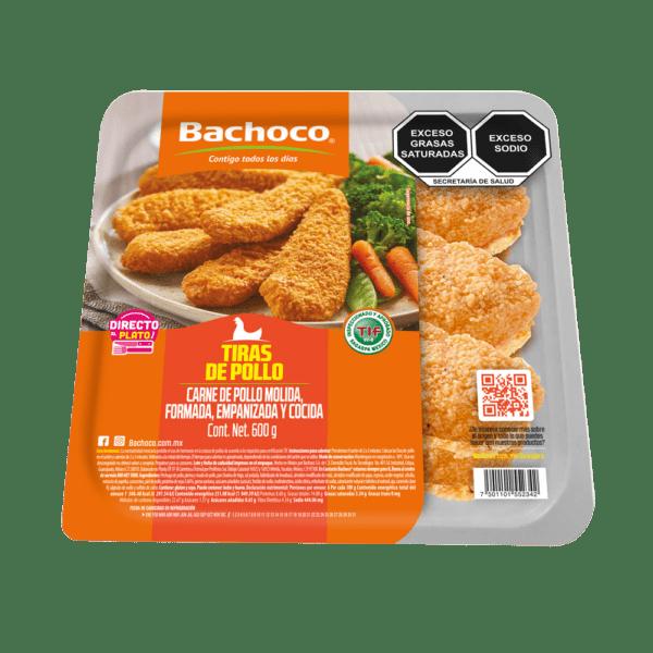 Tiras de pechuga de pollo prácticos 600 g
