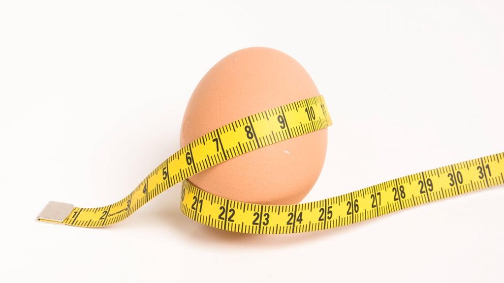El huevo contiene la aportación calórica correcta