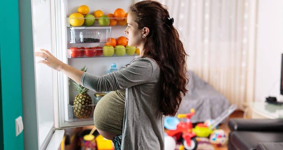 La carne de pavo durante el embarazo.