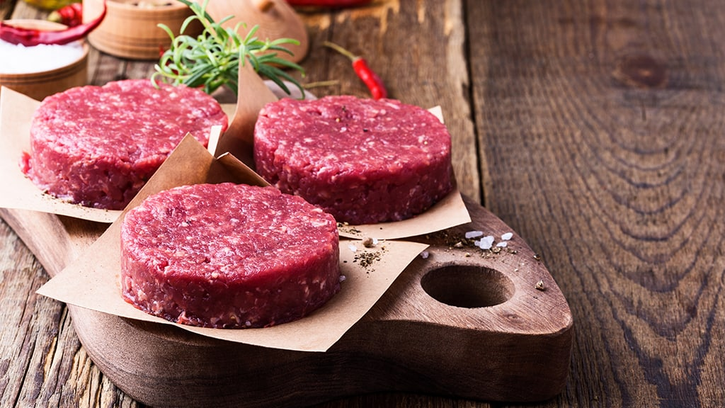 La carne de res y la dieta