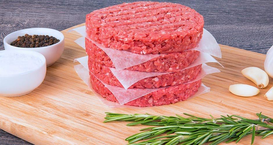 Porcentaje de grasa en la carne de res