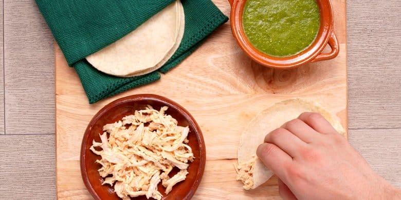 Enchiladas Poblanas Paso:   4