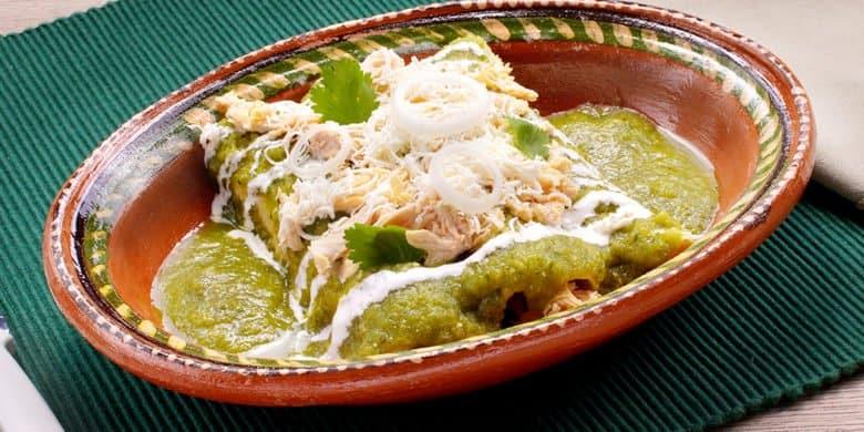 Enchiladas Poblanas Paso:   5
