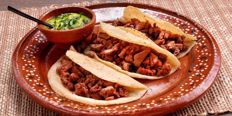 Tacos sudados Paso:   5