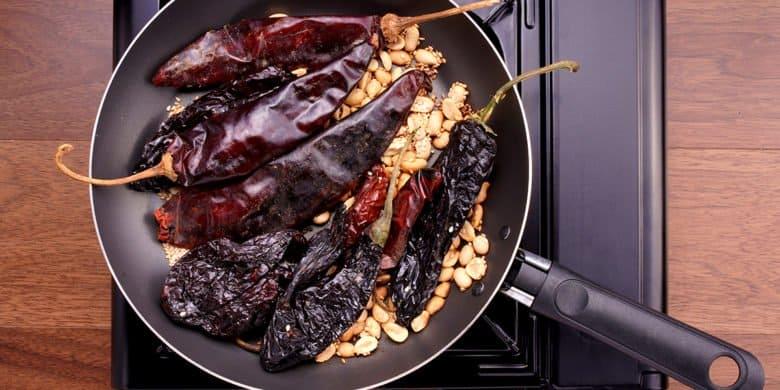 Mollejas en salsa macha Paso:   3