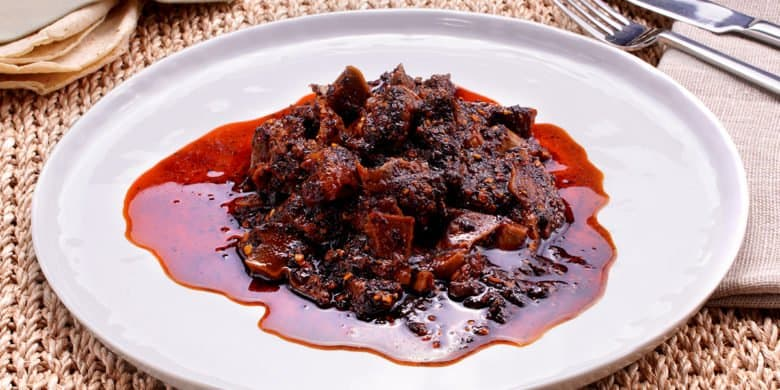 Mollejas en salsa macha Paso:   5