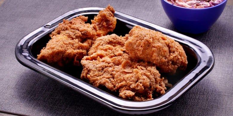 Pollo frito al estilo Bachoco Paso:   5