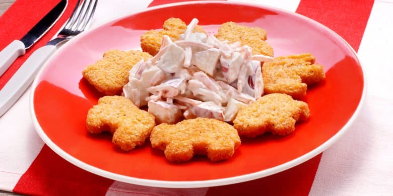 Nuggets de Animalitos Paso:   4
