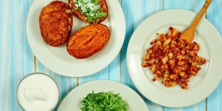 Mini pambazos de chorizo de pollo y papa Paso:   4