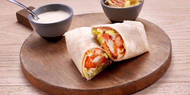 Burrito Buffalo Paso:   4