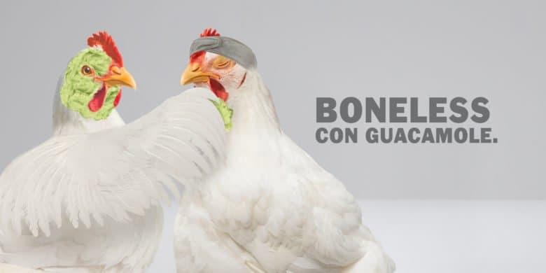 Boneless Guacamole Bachoco - Receta