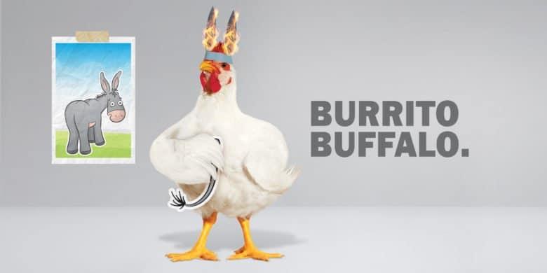 Burrito Búfalo Bachoco