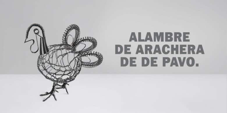 Alambre de Arrachera de pavo