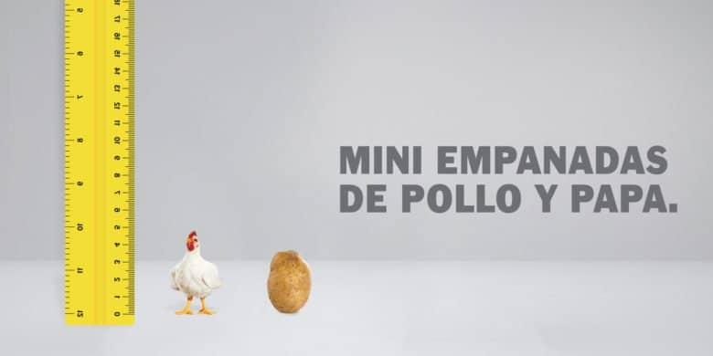 Mini Empanadas de Pollo y papa