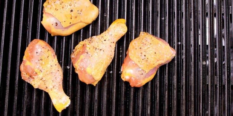 Asado de pollo a la parrilla Paso:   2