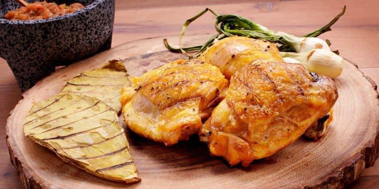 Asado de pollo a la parrilla Paso:   4