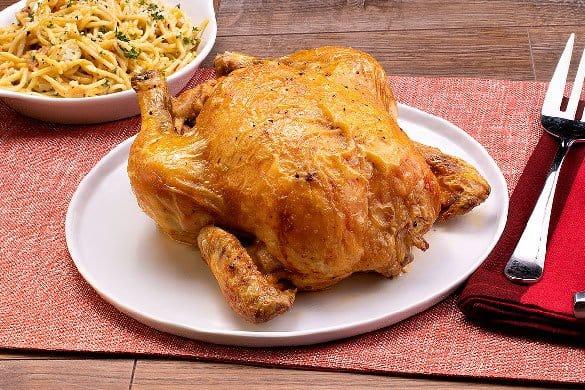 Pollo rostizado natural Paso:   3