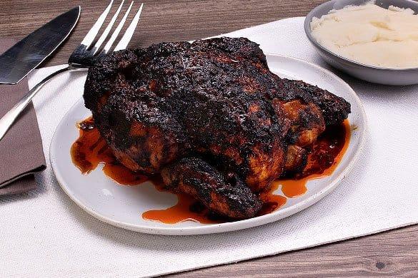 Pollo adobado al horno Paso:   3