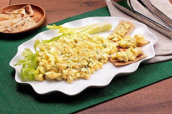 Ensalada de huevo Paso:   3