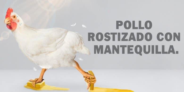 bachoco receta-pollo rostizado con mantequilla